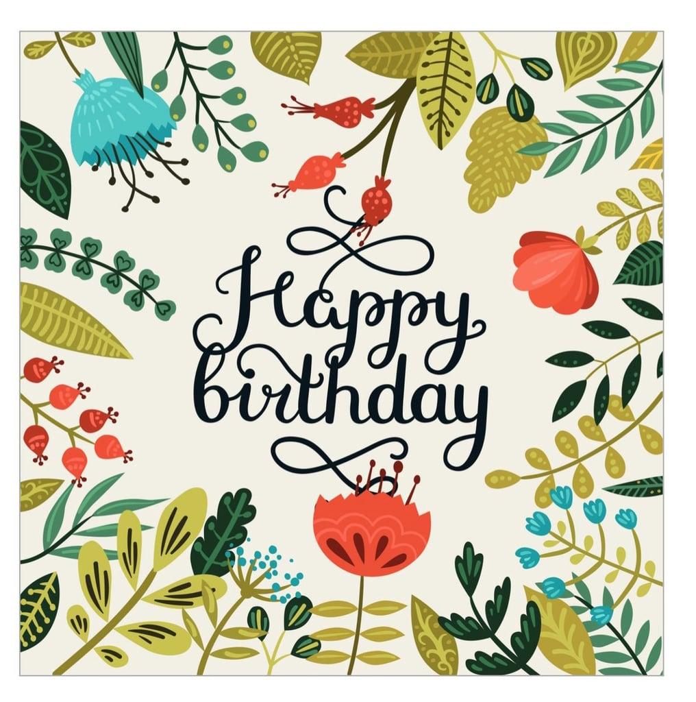 Free Printable Cards For Birthdays   Popsugar Smart Living - Free Printable Greeting Cards No Sign Up