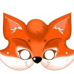 Free Printable Carnival Masks For Kids   Free Printable Wolf Face Mask