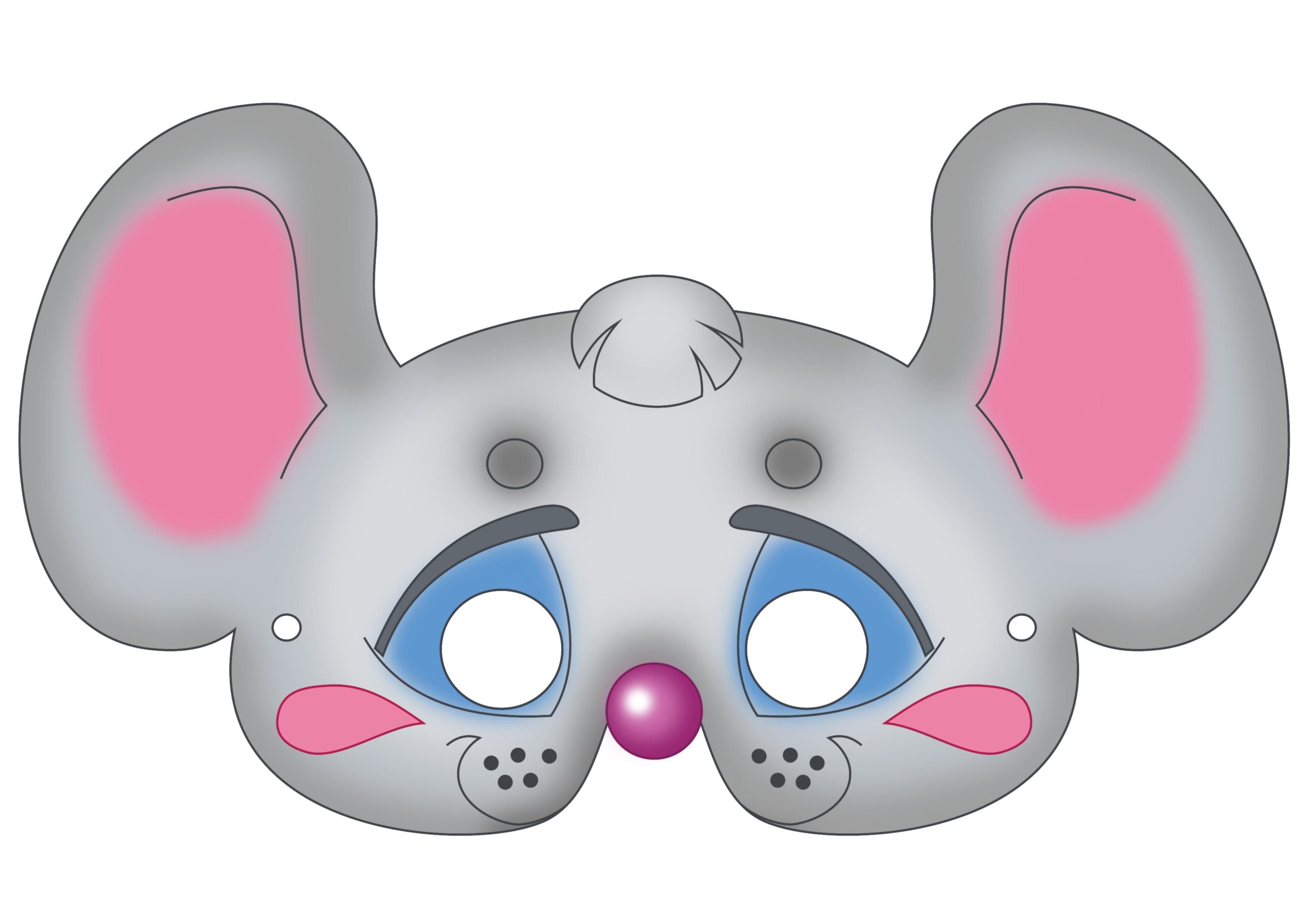 Free Printable Carnival Masks For Kids - Free Printable Wolf Mask