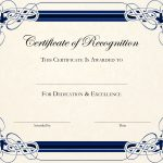 Free Printable Certificate Templates For Teachers | Besttemplate123   Free Printable Blank Certificates Of Achievement