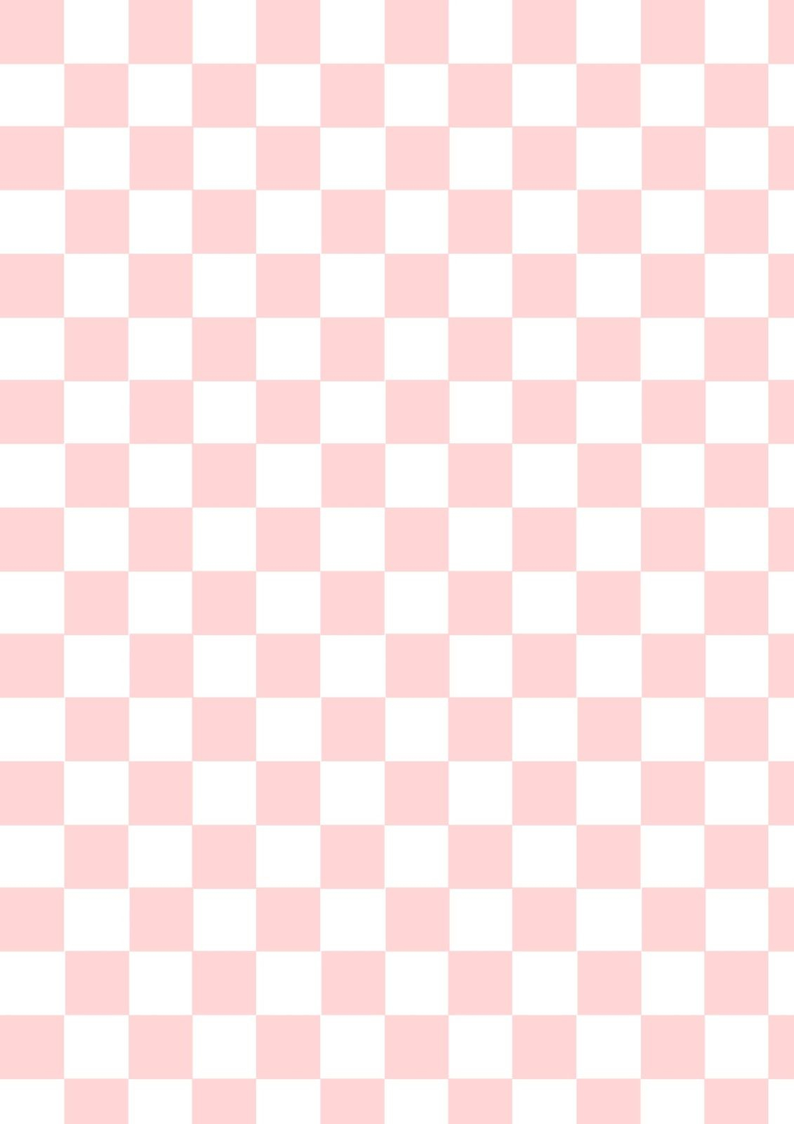 Free Printable Checkerboard Pattern Paper | Pinkwhite | Diary Note - Free Printable Wallpaper Patterns