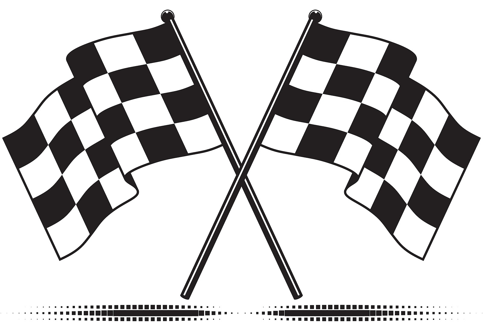 Free Printable Checkered Flag - 11.4.kaartenstemp.nl • - Free Printable Checkered Flag Banner