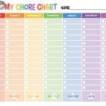 Free Printable Chore Chart     Free Printable Chore List