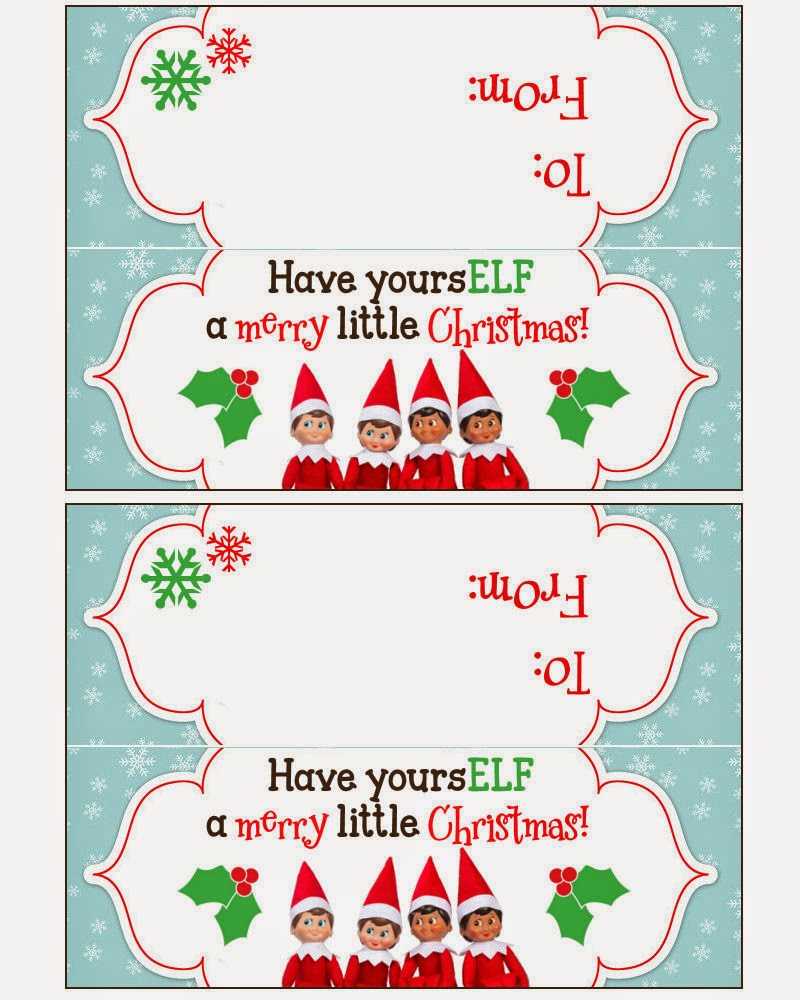 Free Printable Christmas Bag Toppers Templates – Festival Collections - Free Printable Christmas Bag Toppers