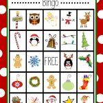 Free Printable Christmas Bingo Game | Christmas | Pinterest   Free Printable Christmas Board Games