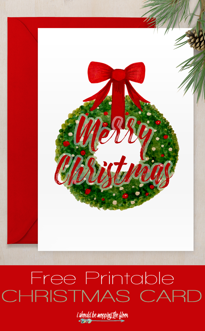 Free Printable Christmas Card | Sharing Christmas Spirit | Pinterest - Free Printable Xmas Cards Download