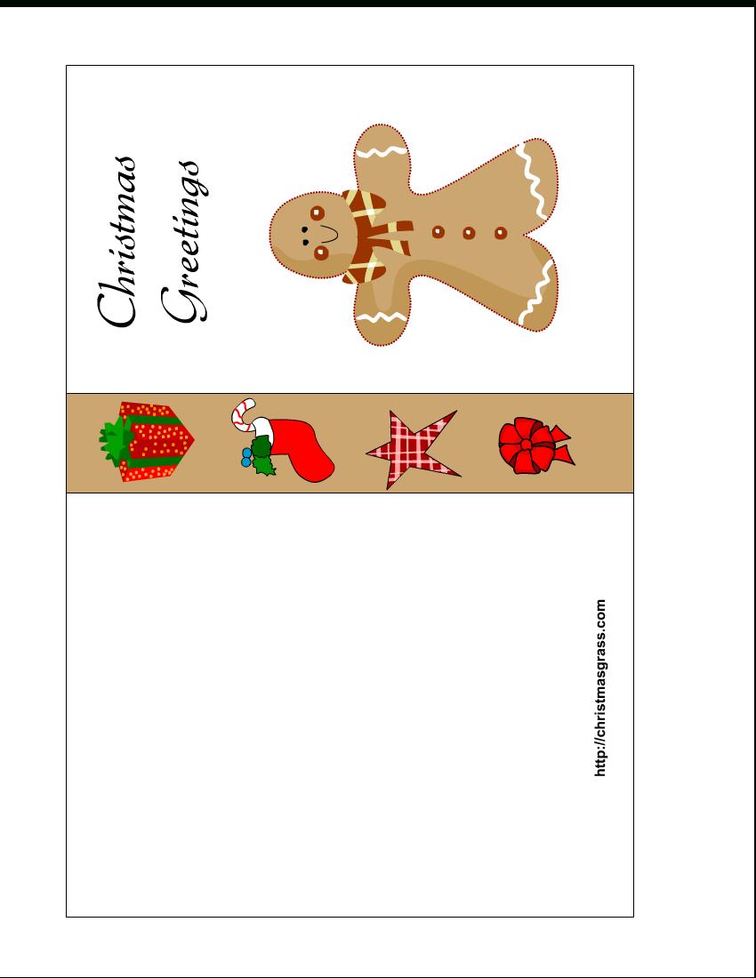Free Printable Christmas Cards   Free Printable Christmas Card With - Free Printable Greeting Cards No Sign Up
