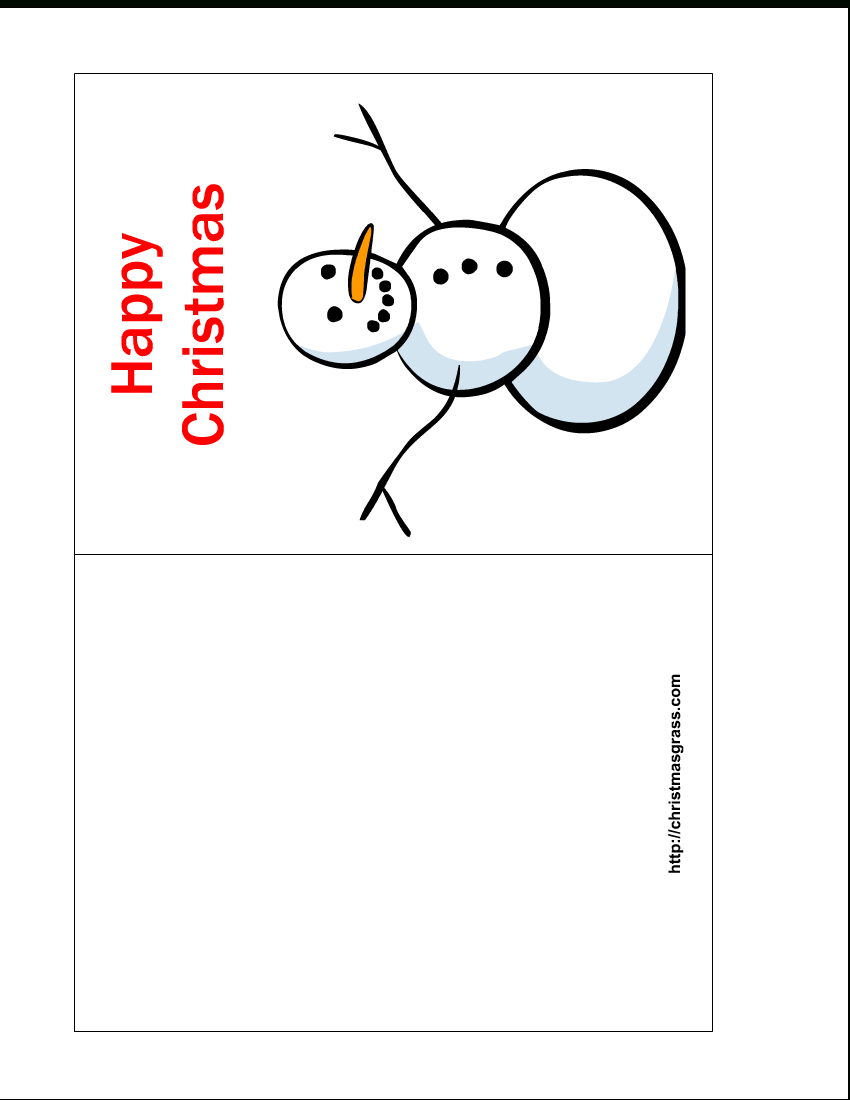 Free Printable Christmas Cards | Free Printable Happy Christmas Card - Free Printable Happy Holidays Greeting Cards