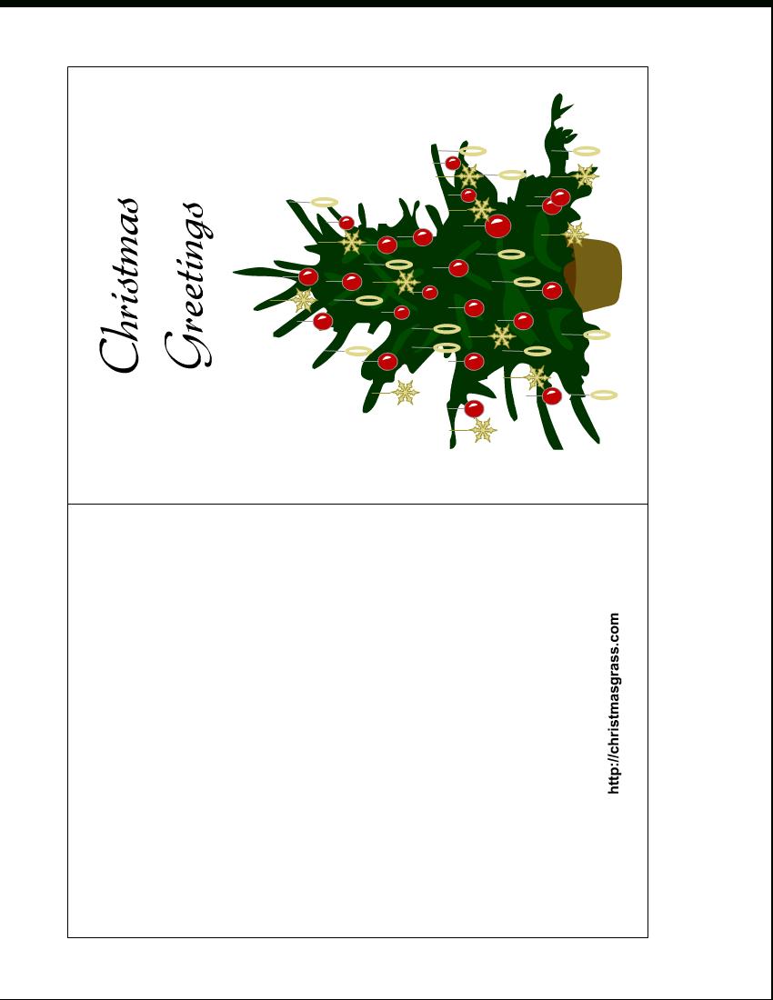 Free Printable Christmas Cards | Holiday Greeting Card With - Free Printable Xmas Cards