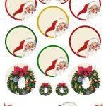 Free Printable Christmas Clip Art   Ausdruckbare Weichnachts Clipart   Free Printable Christmas Clip Art
