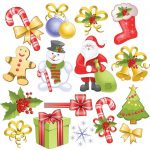 Free Printable Christmas Clip Art | Free Clipart Download   Free Printable Christmas Clip Art
