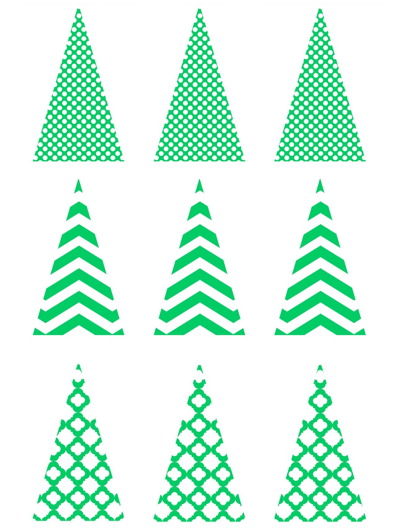 Free Printable Christmas Cookie Stencils – Festival Collections - Free Printable Cookie Stencils