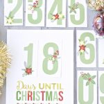 Free Printable Christmas Countdown   Yellow Bliss Road   Free Printable Christmas Photo Collage