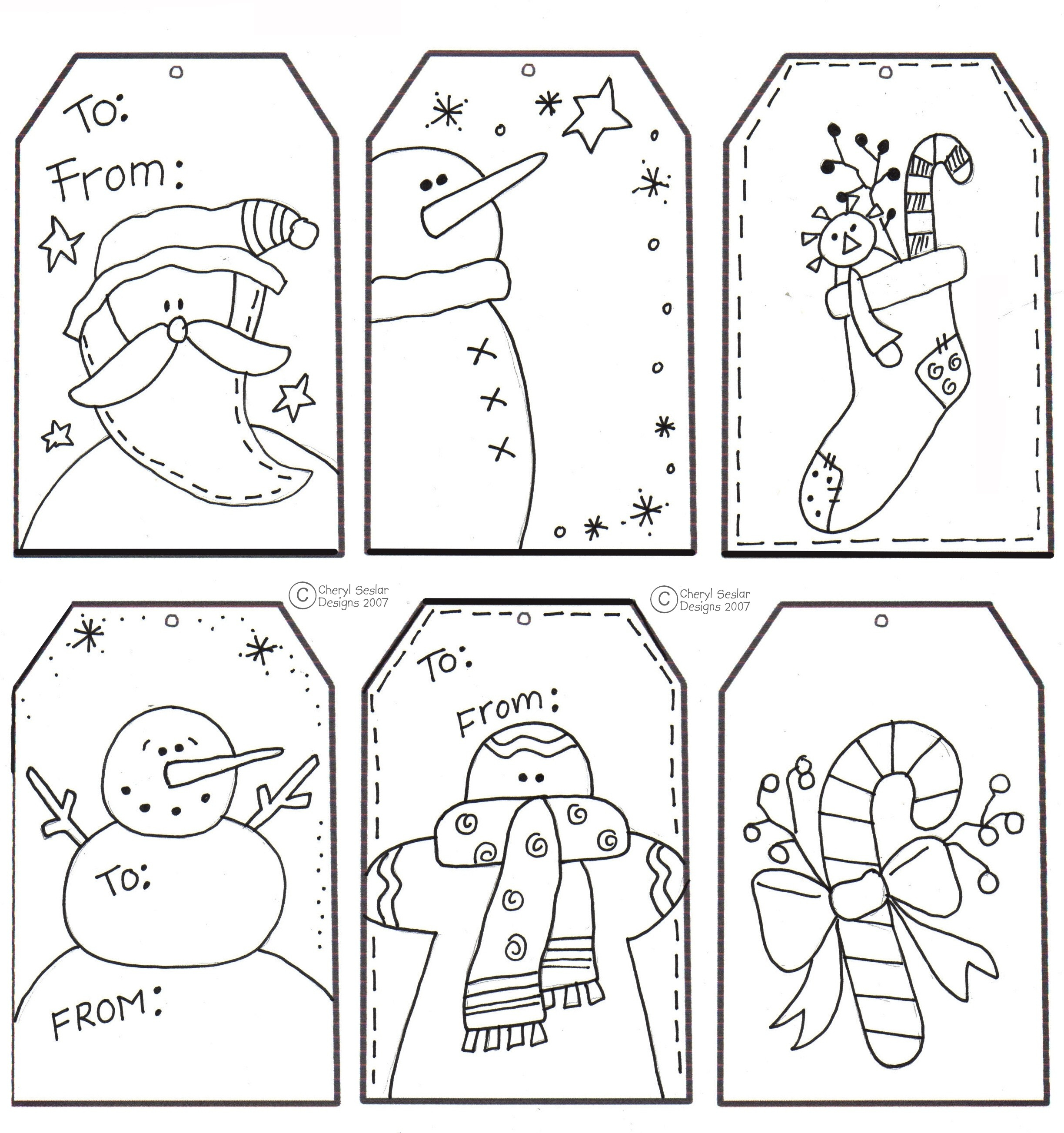 Free Printable Christmas Craft Templates – Festival Collections - Free Printable Christmas Craft Templates
