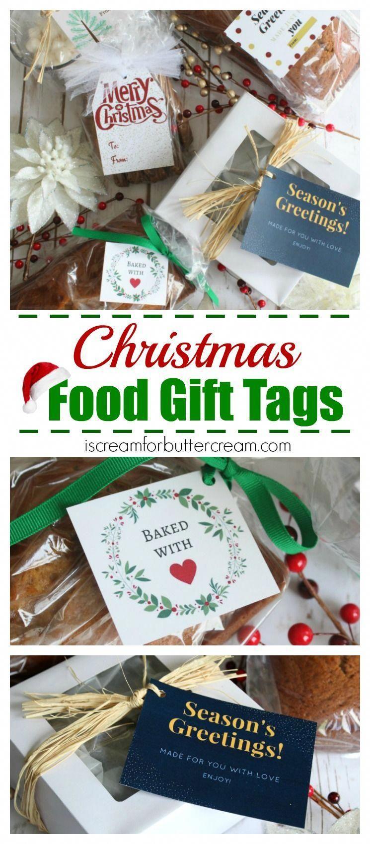 Free Printable Christmas Food Gift Tags | Christmas Cooking Tips - Free Printable Christmas Food Labels