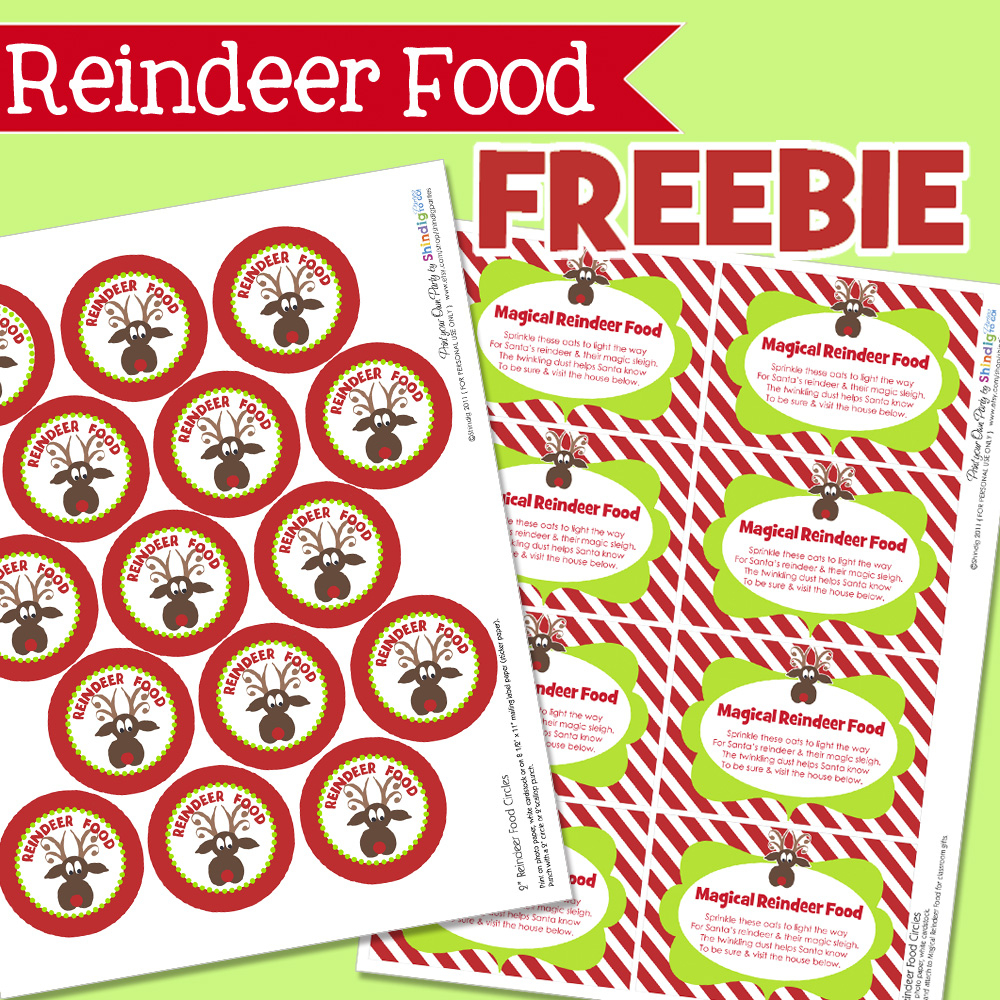 Free Printable Christmas Food Labels – Festival Collections - Free Printable Christmas Food Labels