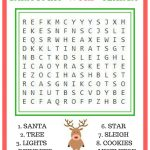 Free Printable Christmas Games – Making Of A Mom – Free Printable Christmas Word Games