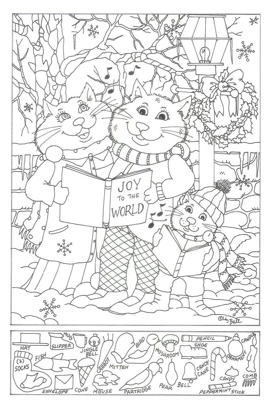 Free Printable Christmas Hidden Picture Puzzles – Festival Collections - Free Printable Christmas Hidden Picture Games