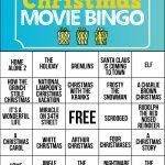 Free Printable Christmas Movie Bingo Cards | Christmas Games   Free Printable Christmas Board Games