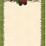 Free Printable Christmas Paper Stationery   Google Search   Free Printable Christmas Stationery Paper