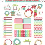 Free Printable Christmas Planner Stickers | Stickers   Free Printable Holiday Stickers