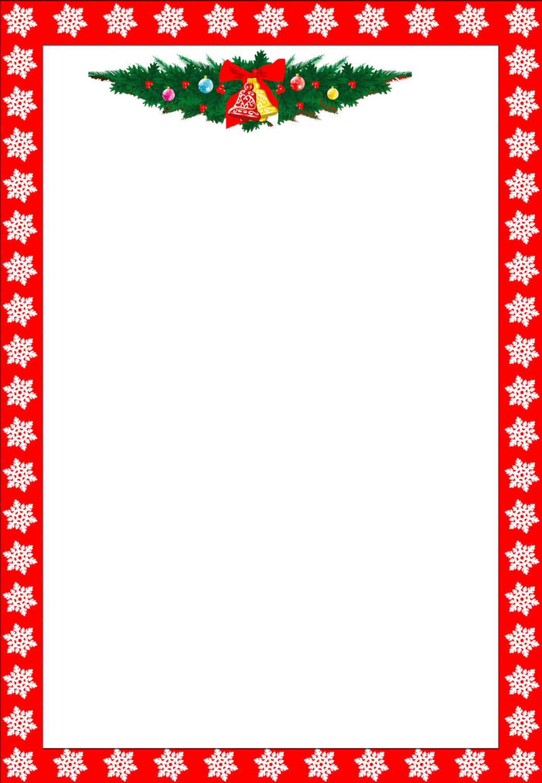 Free Printable Christmas Stationary Borders Trials Ireland - Free Printable Christmas Border Paper