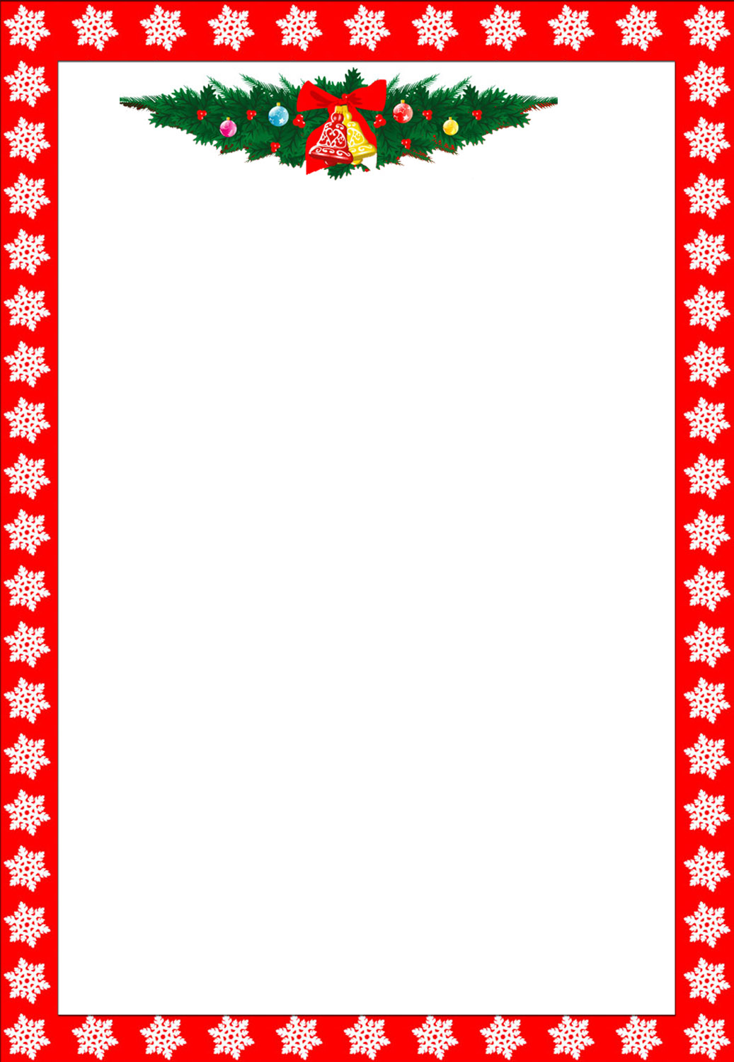 Free Printable Christmas Stationary Borders Trials Ireland - Free Printable Christmas Writing Paper With Lines