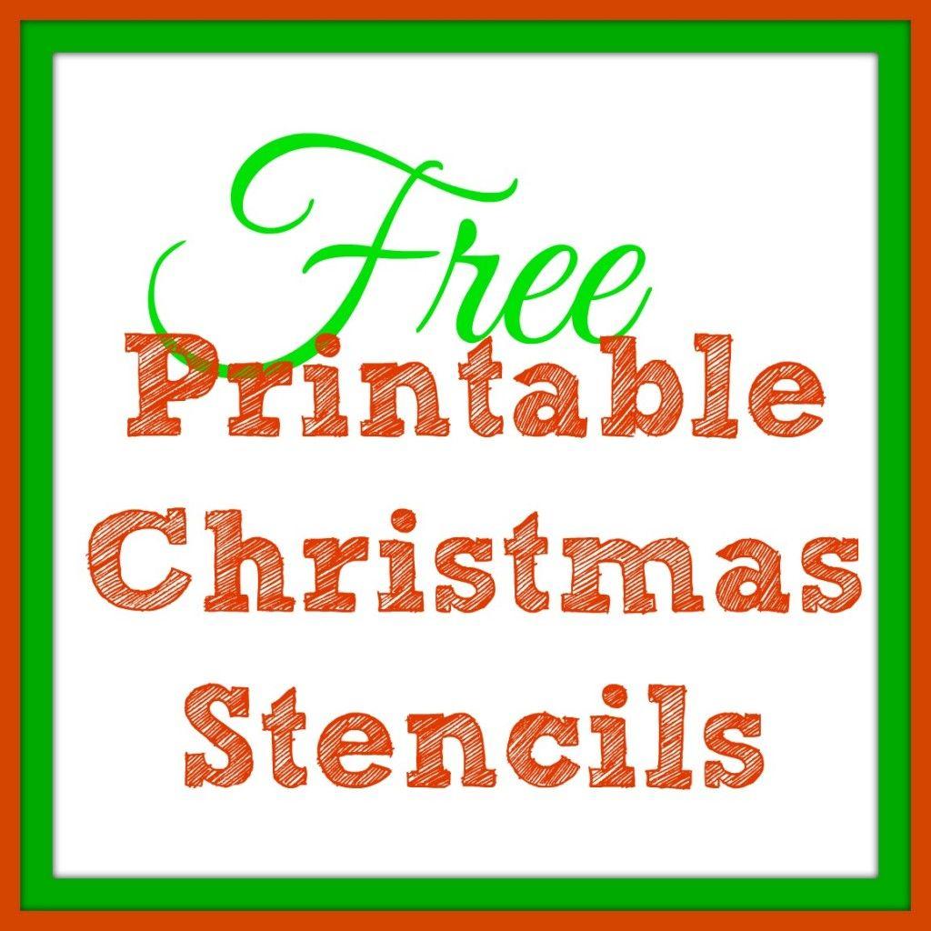 Free Printable Christmas Stencils – Christmas Tree Templates & Santa - Free Printable Christmas Cutouts