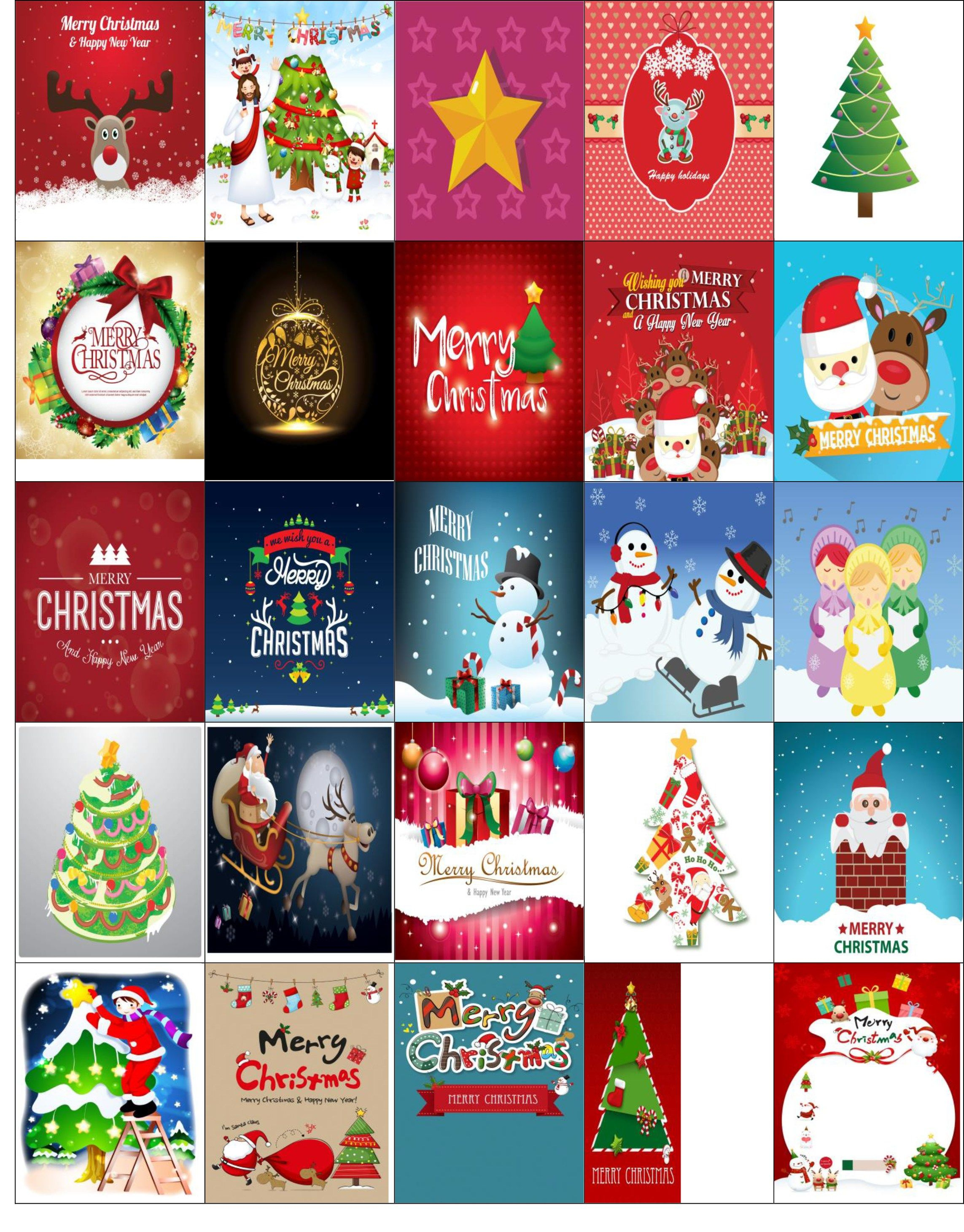 Free Printable-Christmas Stickers For Your Happy Planner | Stickers - Free Printable Holiday Stickers
