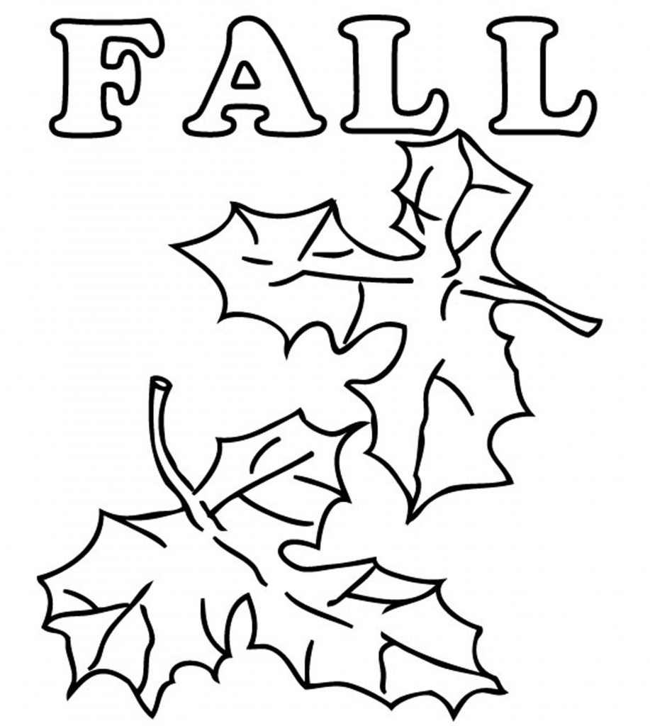 Free Printable Coloring Pages Fall Season | Printable Coloring Pages - Free Printable Fall Leaves Coloring Pages