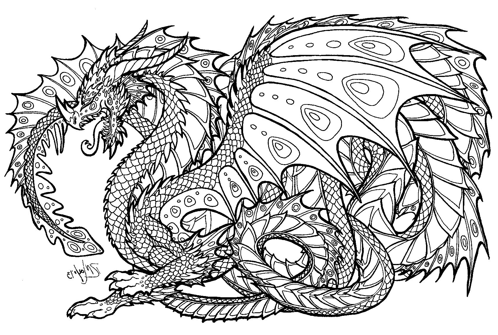 Free Printable Coloring Pages For Adults Advanced | Sleekads - Free Printable Coloring Pages For Adults Advanced