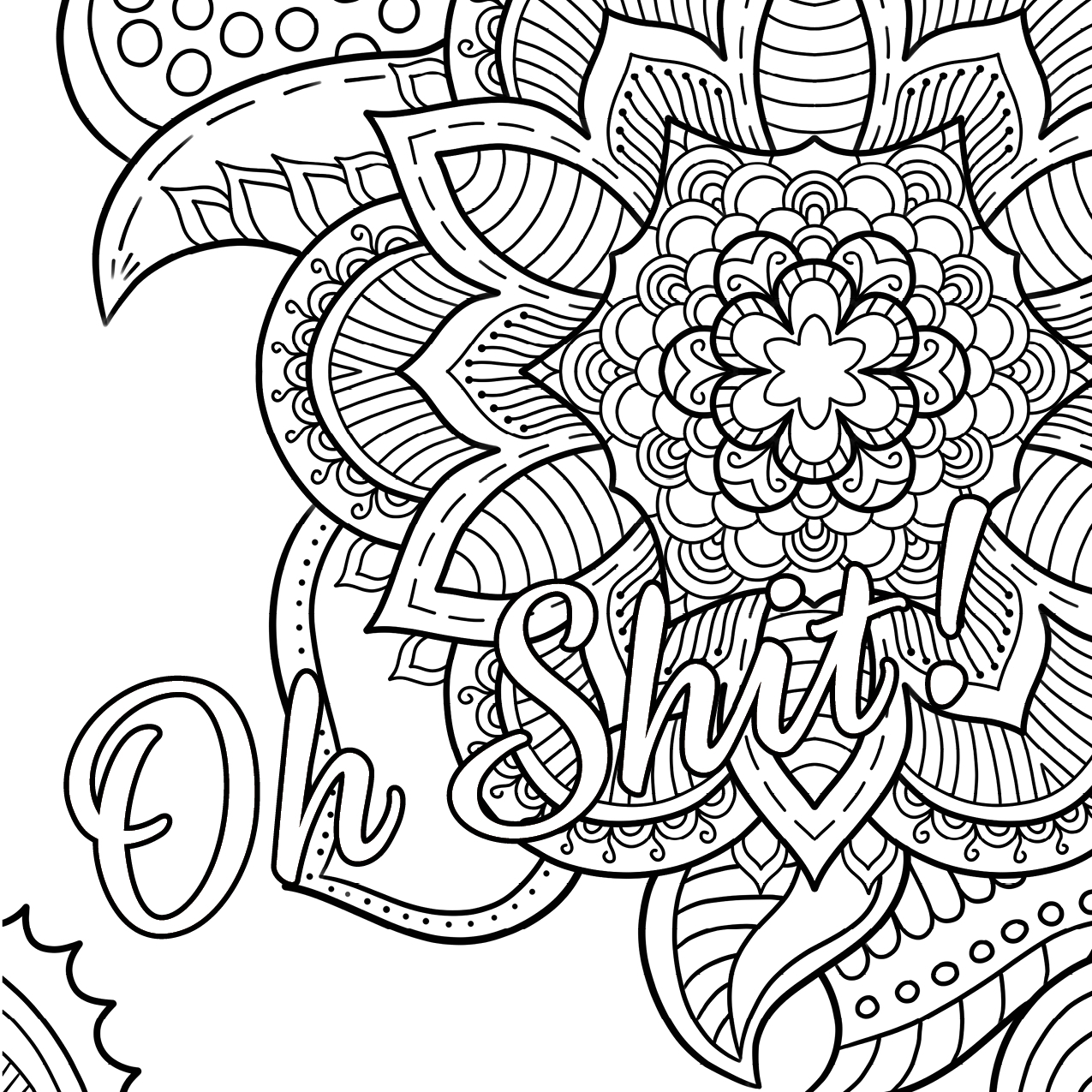Free Printable Coloring Pages For Adults Only Swear Words Gallery - Free Printable Coloring Pages For Adults Only Swear Words