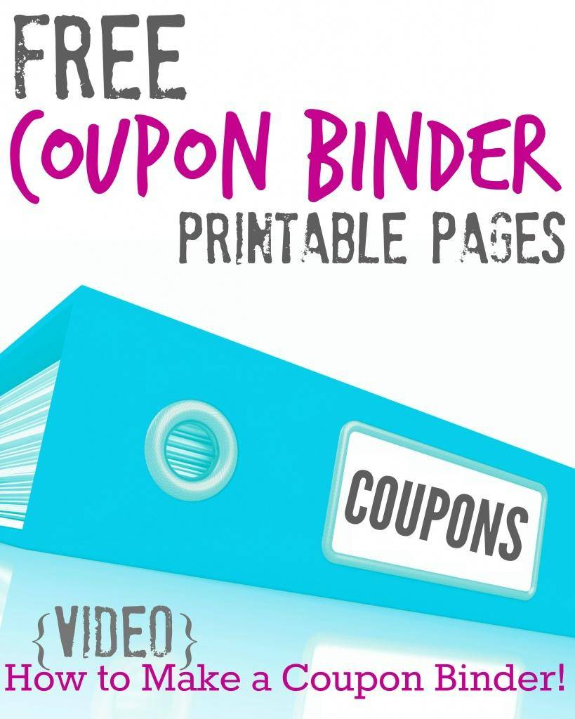 Free Printable Coupon Binder Pages!!! - Passion For Savings - Free Printable Coupon Spreadsheet
