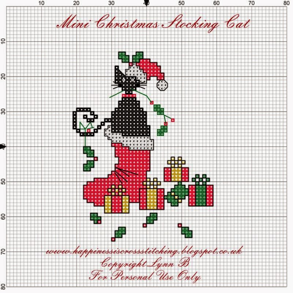 Free Printable Cross Stitch Christmas Stocking Patterns | Free Printable - Free Printable Cross Stitch Christmas Stocking Patterns