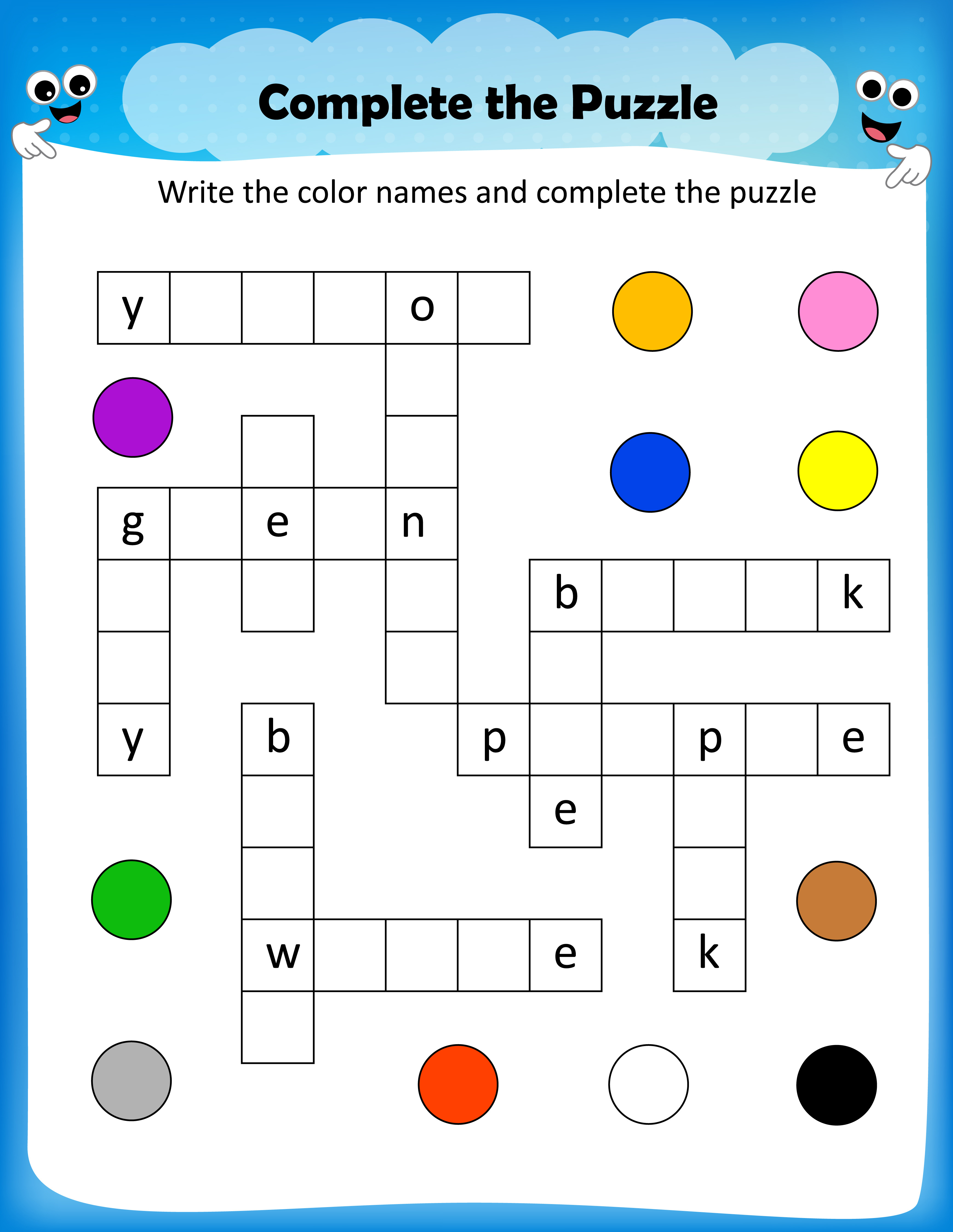 Free Printable Crosswords With Top 10 Benefits For Our Kids - Free Printable Crossword Puzzles For Kids