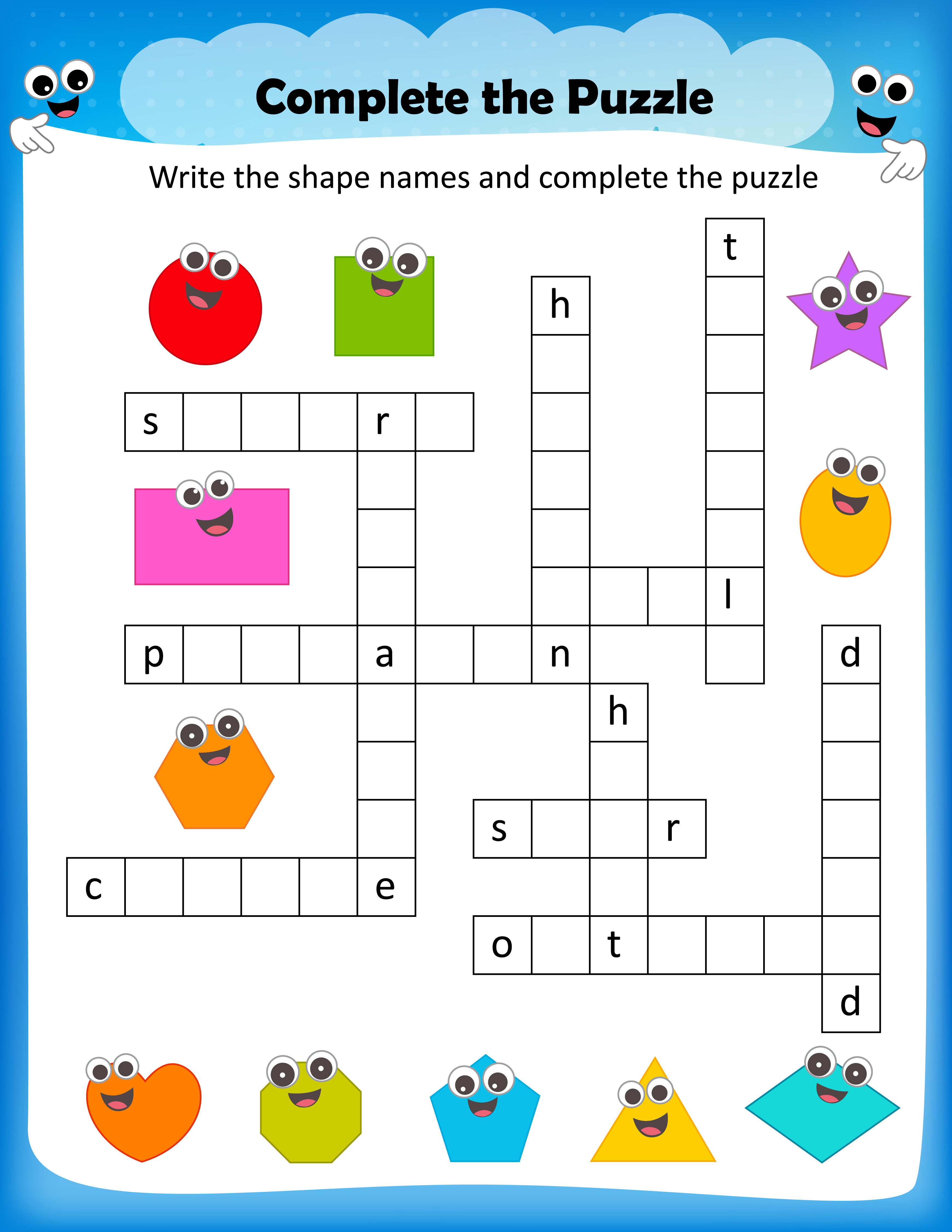 Free Printable Crosswords With Top 10 Benefits For Our Kids - Free Printable Puzzles For Kids