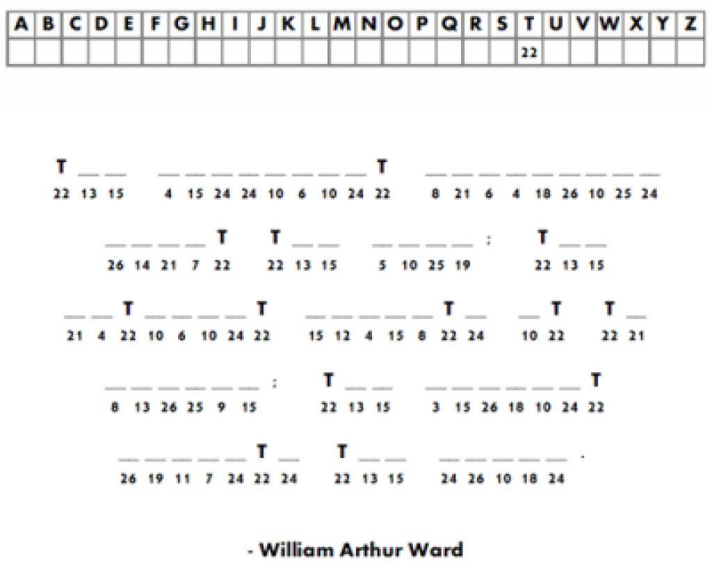Free Printable Cryptograms | Free Printable - Free Printable Cryptograms Pdf