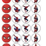 Free Printable Cupcake Wrappers And Toppers With Spiderman   Free Printable Spiderman Pictures