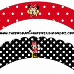 Free Printable Cupcake Wrappers. | C Cupcakes | Printables, Party   Free Printable Minnie Mouse Cupcake Wrappers