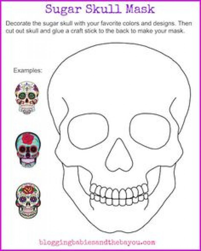 Free Printable Day Of The Dead Worksheets | Free Printable - Free Printable Day Of The Dead Worksheets