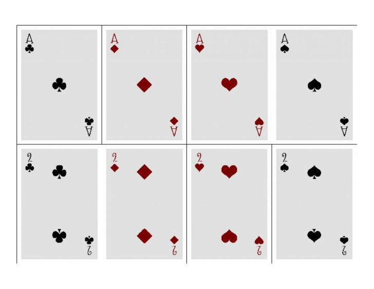 Free Printable Deck Of Cards