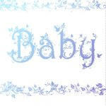 Free Printable Decorated Baby Card Greeting Card | Baby Shower Ideas   Free Printable Baby Cards