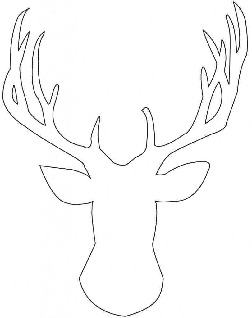 photograph regarding Printable Deer Pictures named Free of charge Printable Deer Pumpkin Stencils Free of charge Printable - Cost-free