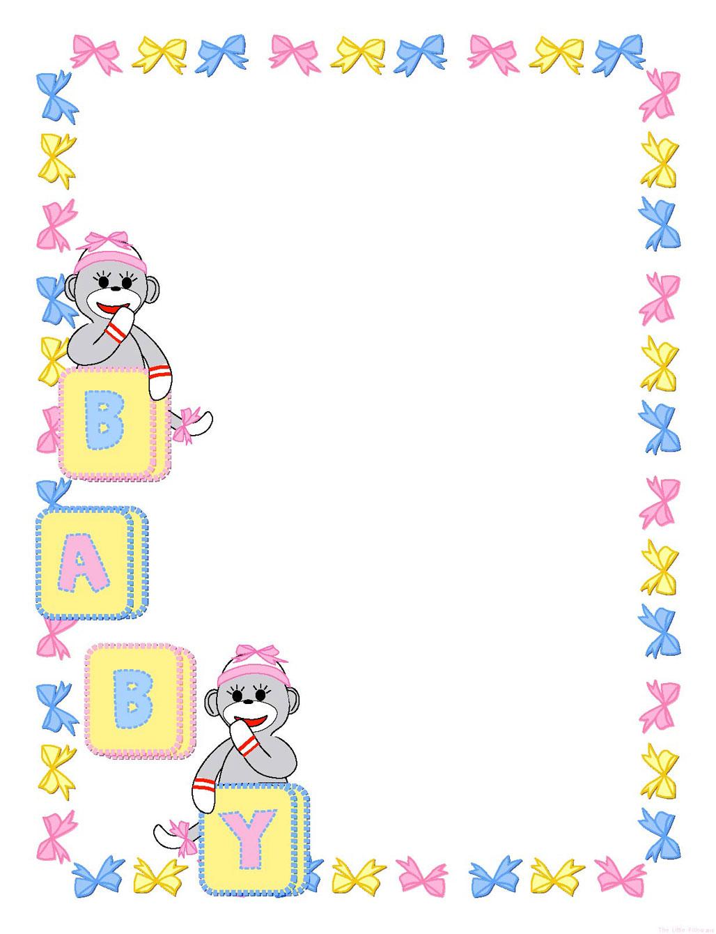 Free Printable, Digital, Scrapbook Template Pages, New Born, Baby - Free Printable Baby Scrapbook Pages