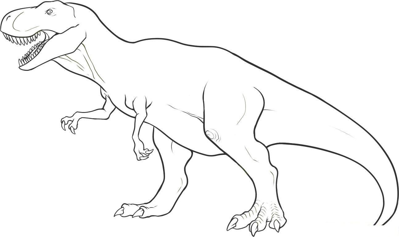 Free Printable Dinosaur Coloring Pages For Kids | Places To Visit - Free Printable Dinosaur Coloring Pages