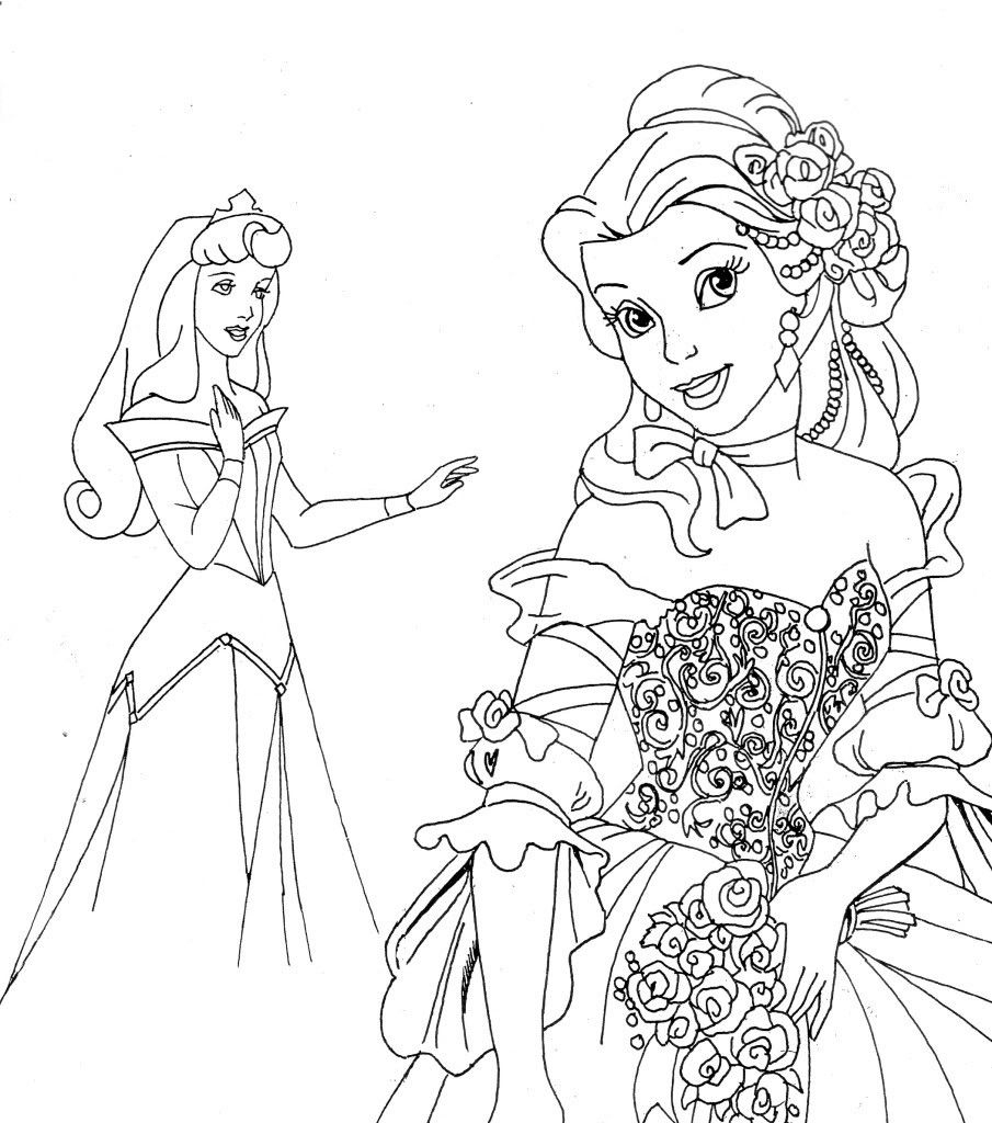 Free Printable Disney Princess Coloring Pages For Kids | Disney - Free Printable Princess Coloring Pages