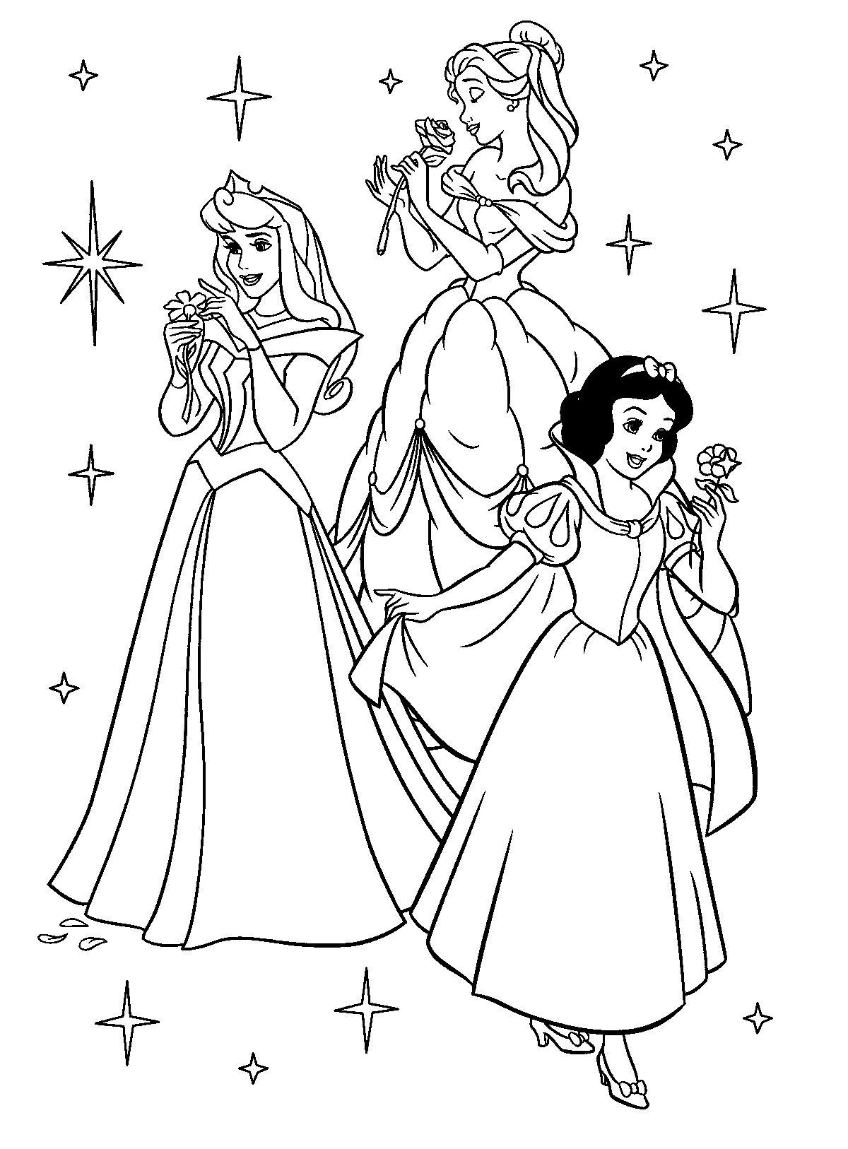 Free Printable Disney Princess Coloring Pages For Kids   Színezők - Free Printable Coloring Pages Disney Frozen