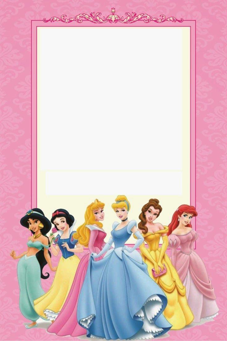 Free Printable Disney Princess Ticket Invitation   Party - Disney Princess Free Printable Invitations
