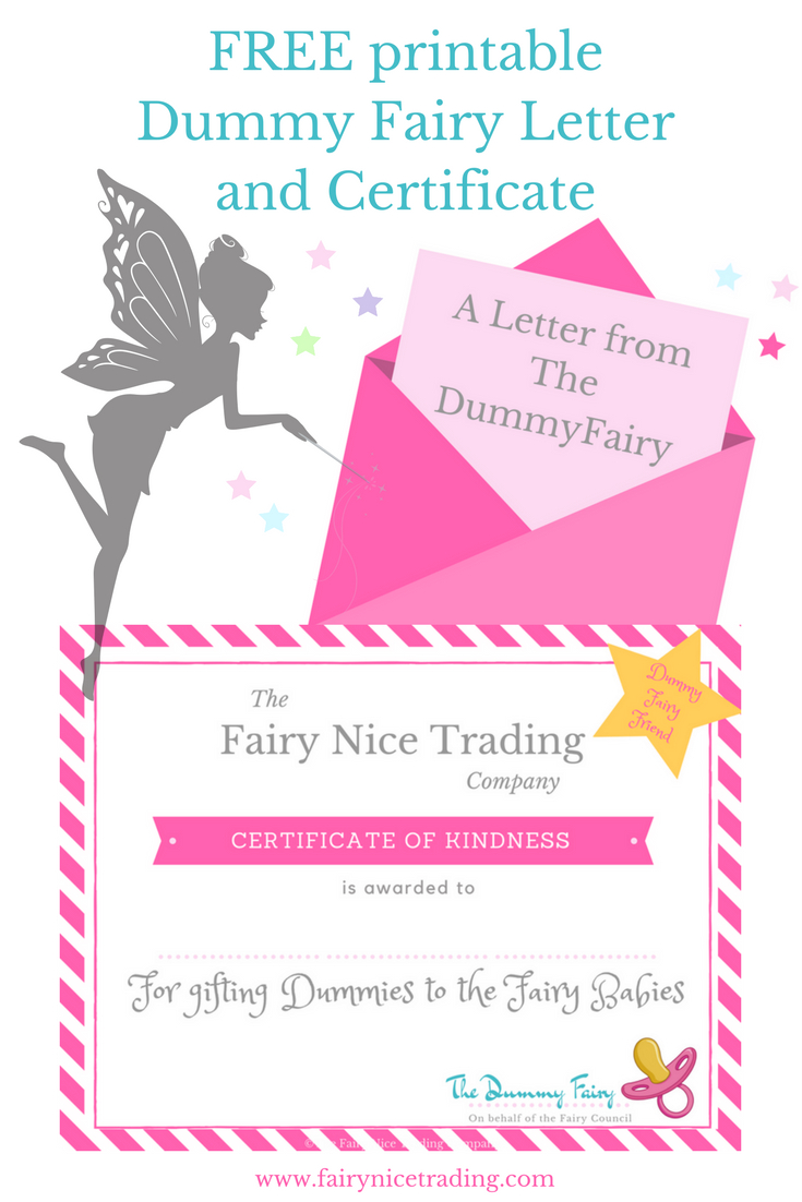 Free Printable Dummy Fairy Letter | The Dummy Fairy | Pinterest - Pin The Dummy On The Baby Free Printable