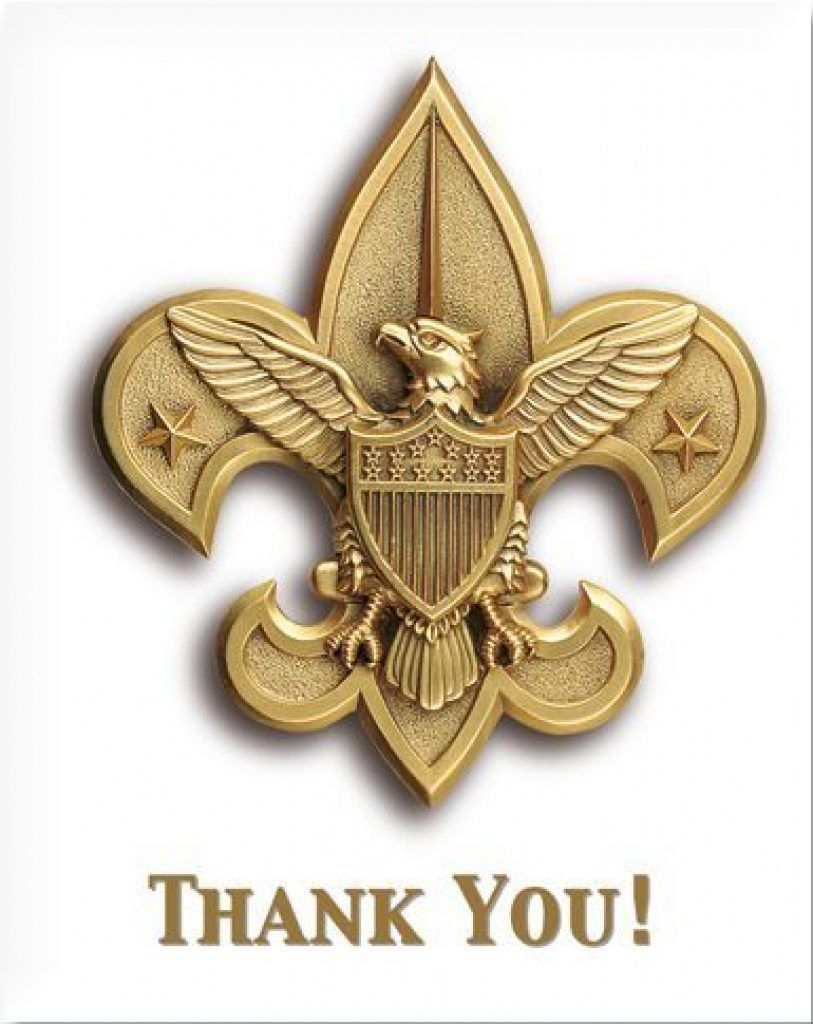 Free Printable Eagle Scout Thank You Cards Free Printable - Free Printable Eagle Scout Thank You Cards